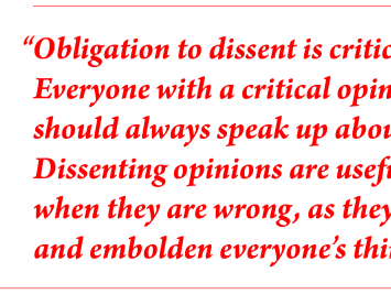 Why you should foster a culture that welcomes dissent