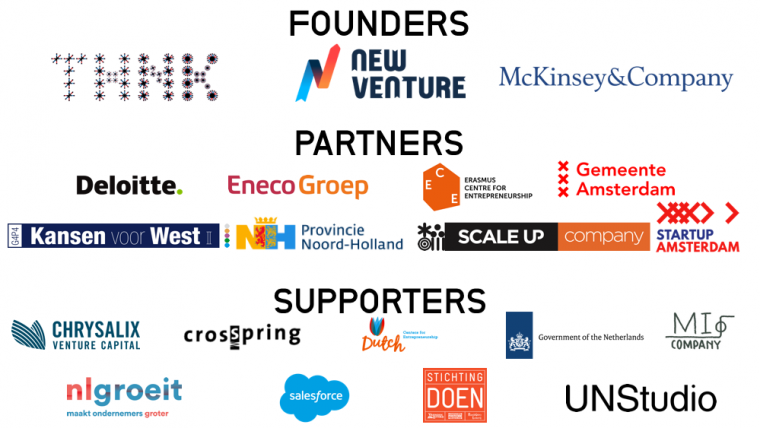 ScaleUpNation Founders, Partners, and Supporters