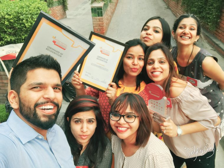 Vithika Yadav and her team at Love Matters India recently won a Social Media for Empowerment Award