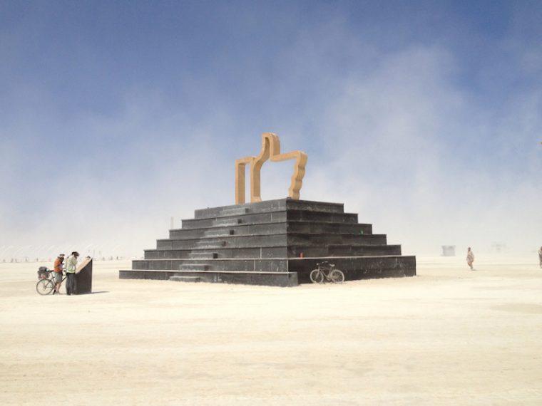 Dadara Likes for Real at Burning Man