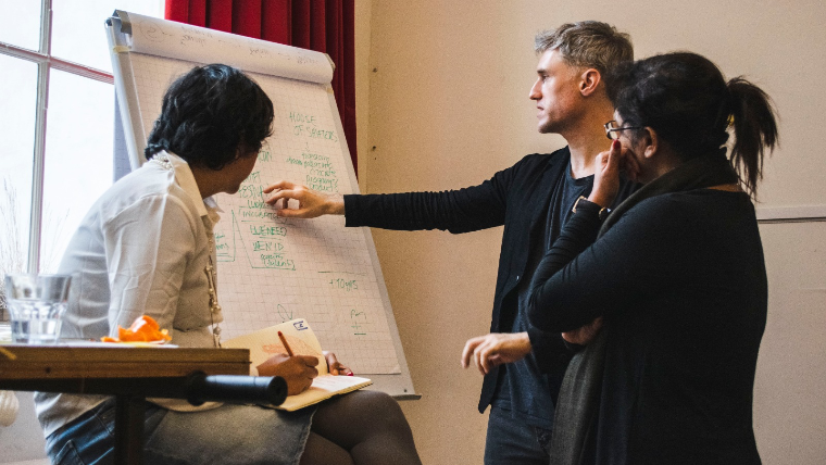 The human challenges of design thinking